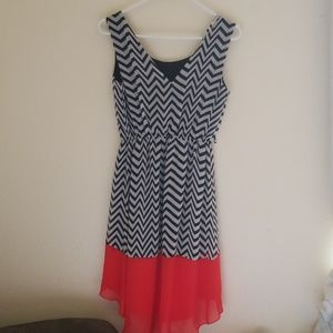 Sweet storm women's dress size small high low